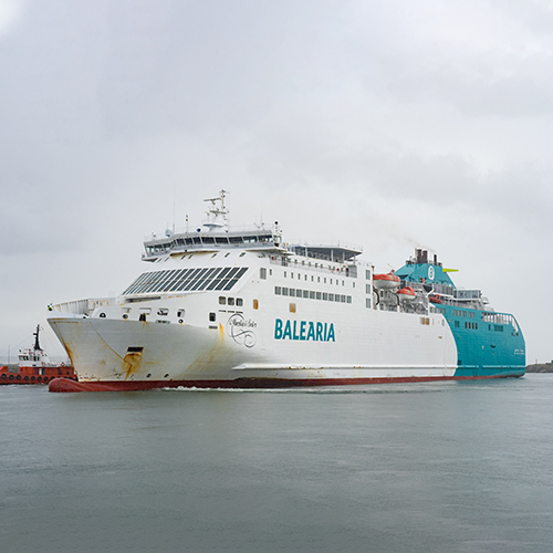 West Sea completes the conversion to Liquefied Natural Gas of the Martin I Soler from Baleària