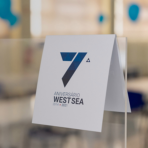 Em 2021 a West Sea celebra 7 anos de atividade