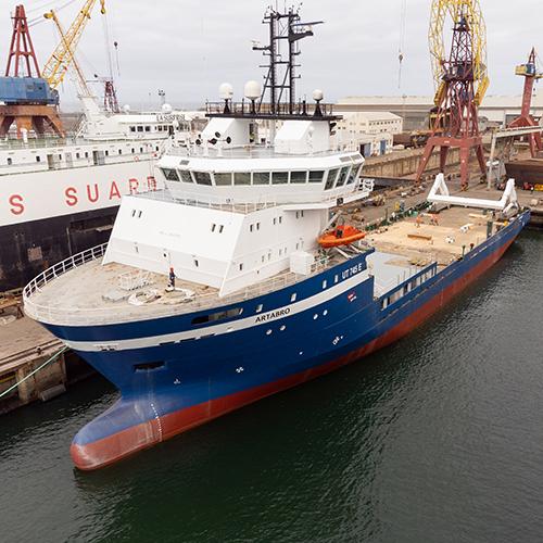 O Artabro é o mais recente projeto de conversão naval da West Sea