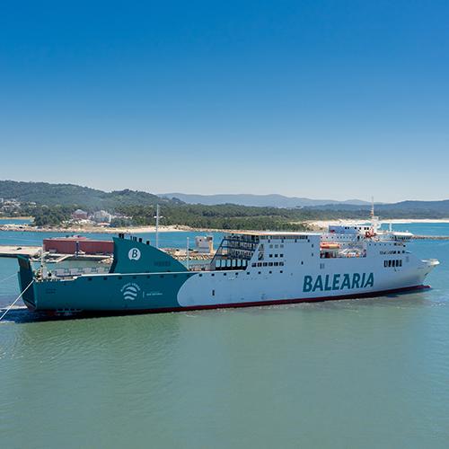 A West Sea conclui a conversão a Gás Natural Liquefeito do Sicilia, da Baleària