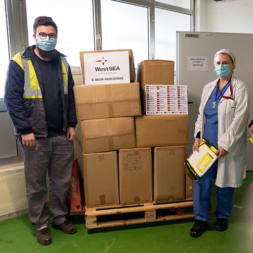 West Sea and Partners united to help the Viana do Castelo Hospital